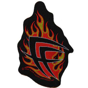 Fear Factory - Flames Cut Out Patch