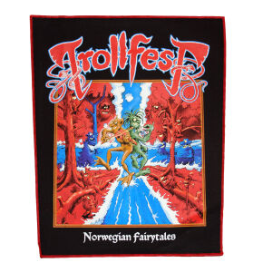 Trollfest - Norwegian Fairytales Backpatch