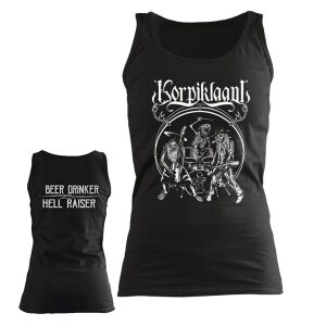 Korpiklaani - Tres Hombres Girlie Tank X-Large
