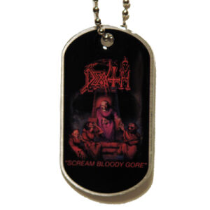 Death - Scream Bloody Gore Hundemarke/dog-tag