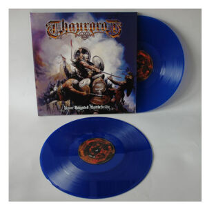 Thaurorod - Upon Haunted Battlefields, blue colour 2LP