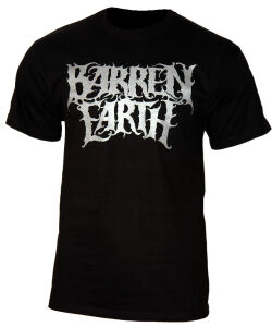 Barren Earth - Logo metallic T - Shirt