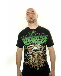 The Faceless - Thorny Skulls T-Shirt