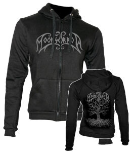 Moonsorrow - Jumalten aika Girlie Zipped Hoodie X-Large