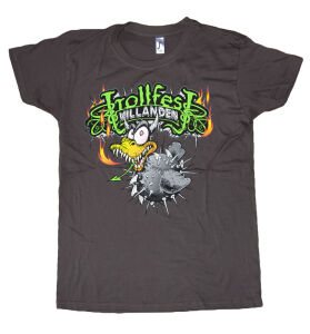 Trollfest - Villanden dark grey T-Shirt