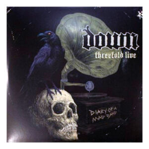 Down -  threefold live (Diary of..) 3LP