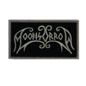 Moonsorrow - Silver Logo Patch