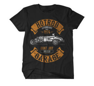 Hotrod Garage T-Shirt